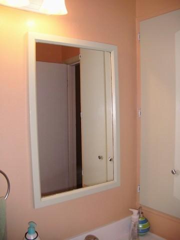 Valspar Semi Seasonal: peach bathroom