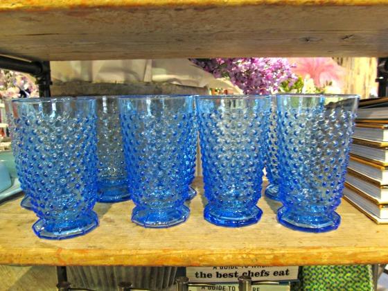 bluebeveledfootedglassesanthropologie